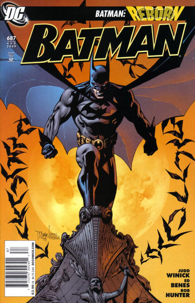 Cover for Batman (DC, 1940 series) #687 [Newsstand]