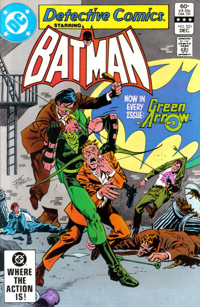 Cover for Detective Comics (1937 series) #521 [Direct]
