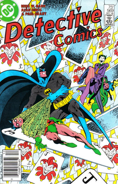 Cover for Detective Comics (1937 series) #569 [Direct]