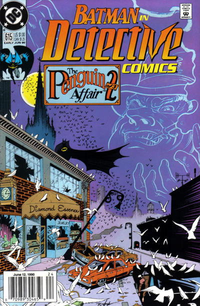 Cover for Detective Comics (1937 series) #615 [Newsstand]