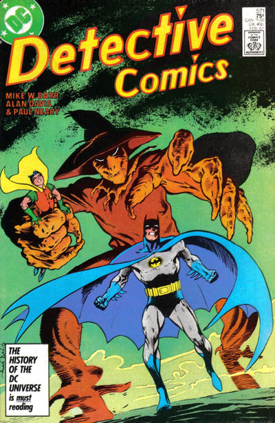 Cover for Detective Comics (1937 series) #571 [Direct]