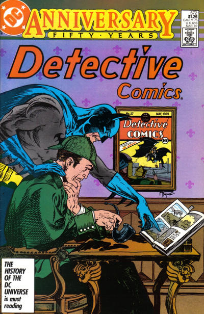 Cover for Detective Comics (DC, 1937 series) #572 [Newsstand]