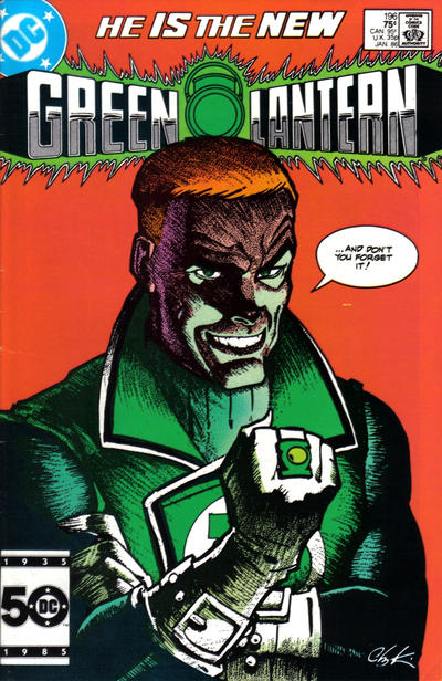Cover for Green Lantern (1976 series) #196 [Newsstand]