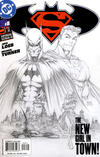 Cover for Superman / Batman (DC, 2003 series) #8 [2nd Printing Variant by Michael Turner]