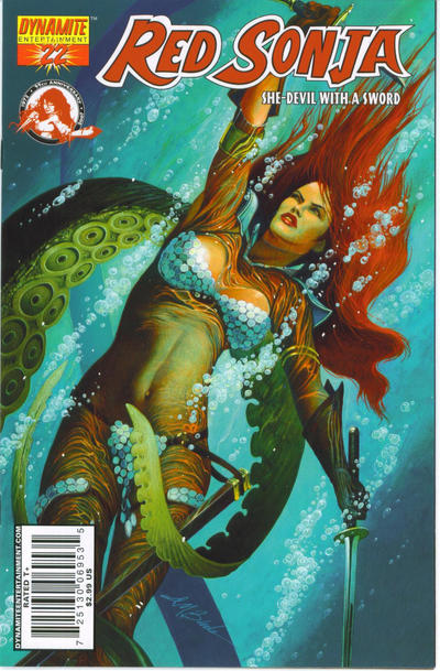 Cover for Red Sonja (Dynamite Entertainment, 2005 series) #22 [Stephen Segovia Cover]