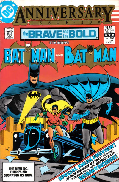 Cover for The Brave and the Bold (DC, 1955 series) #200 [Direct]