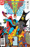 Cover Thumbnail for World's Finest Comics (1941 series) #284 [Newsstand]