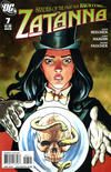 Cover for Zatanna (DC, 2010 series) #7