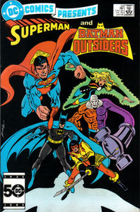 Cover Thumbnail for DC Comics Presents (DC, 1978 series) #83 [Direct]