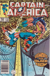 Cover Thumbnail for Captain America (Marvel, 1968 series) #292 [Newsstand Edition]