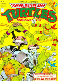 Cover Thumbnail for Teenage Mutant Hero Turtles (Condor, 1990 series) #12