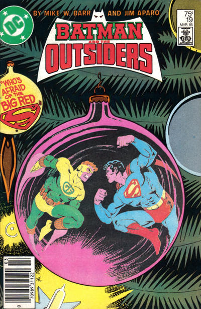 Cover for Batman and the Outsiders (1983 series) #19 [Direct]