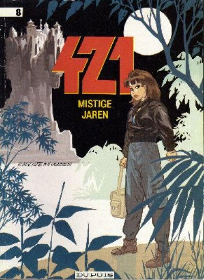 Cover for 421 (1984 series) #8