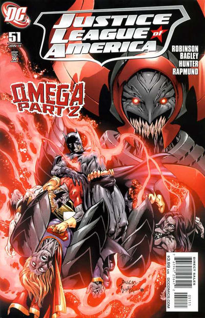 Cover for Justice League of America (DC, 2006 series) #51 [Standard Cover]