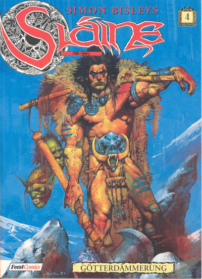 Cover for Slaine (1996 series) #4