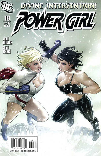 Cover for Power Girl (DC, 2009 series) #18