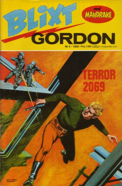 Cover for Blixt Gordon (Semic, 1967 series) #5/1969