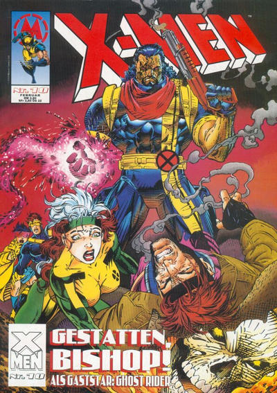 Cover for X-Men (Marvel UK, 1994 series) #10