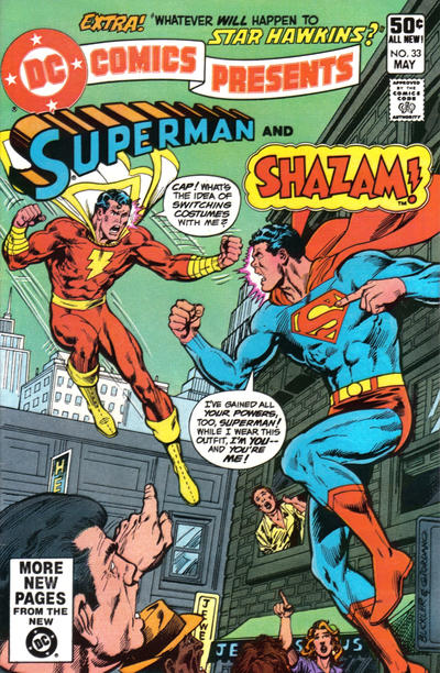 Cover for DC Comics Presents (DC, 1978 series) #33 [Direct]