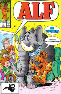 Cover Thumbnail for ALF (Marvel, 1988 series) #5 [Direct]