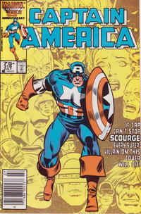 Cover Thumbnail for Captain America (Marvel, 1968 series) #319 [Newsstand Edition]