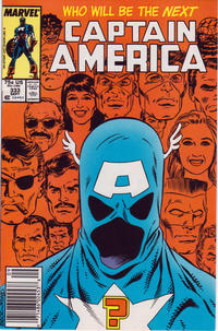 Cover Thumbnail for Captain America (Marvel, 1968 series) #333 [Newsstand Edition]