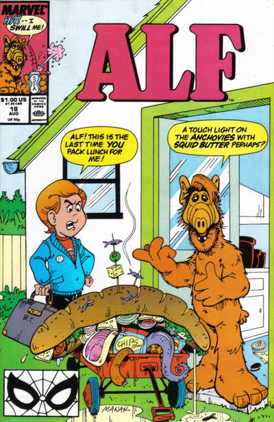 Cover for ALF (Marvel, 1988 series) #18 [Direct]
