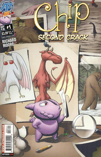 Cover for Chip: Second Crack (Antarctic Press, 2010 series) #1