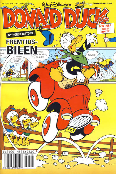 Cover for Donald Duck &amp; Co (1997 series) #45/2010