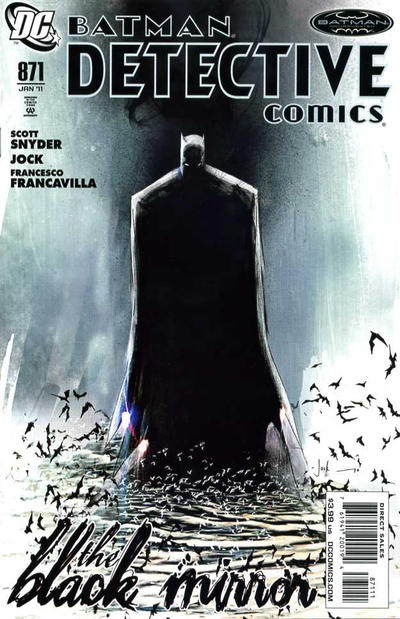 Cover for Detective Comics (DC, 1937 series) #871 [Second Printing]