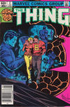 Cover Thumbnail for The Thing (1983 series) #2 [Newsstand Edition]