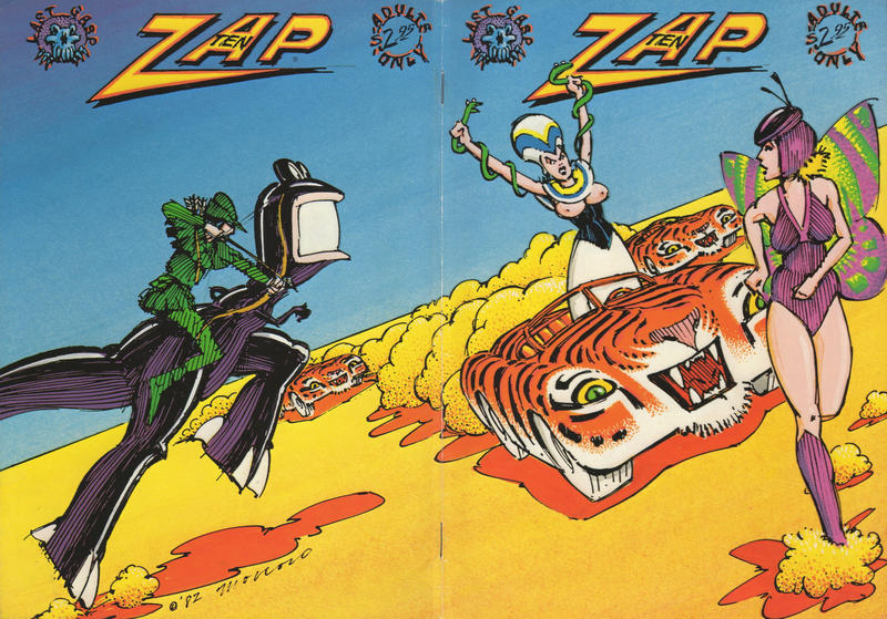 Cover for Zap Comix (Last Gasp, 1982 ? series) #10
