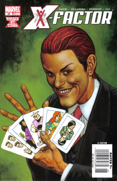Cover for X-Factor (2006 series) #30 [Direct Edition]
