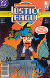 Cover Thumbnail for Justice League International (1987 series) #9 [Newsstand]