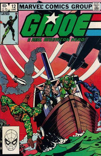 Cover Thumbnail for G.I. Joe, A Real American Hero (Marvel, 1982 series) #12 [Direct Edition]