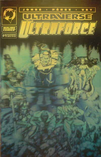 Cover for UltraForce (Malibu, 1994 series) #1 [Direct Edition]