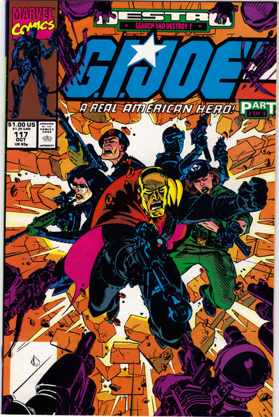 Cover for G.I. Joe, A Real American Hero (1982 series) #117 [Direct Edition]