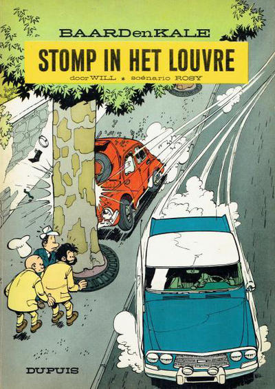 Cover for Baard en Kale (1954 series) #9