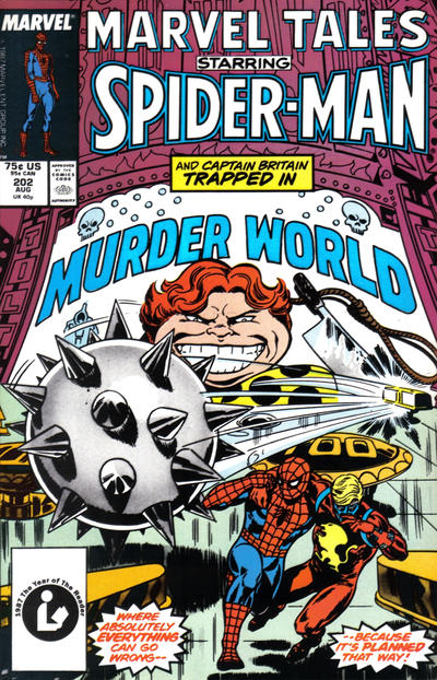 Cover for Marvel Tales (Marvel, 1966 series) #202 [Newsstand Edition]
