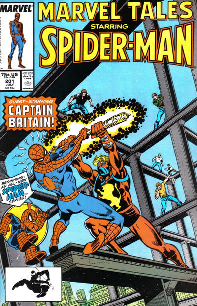 Cover for Marvel Tales (Marvel, 1966 series) #201 [Direct Edition]