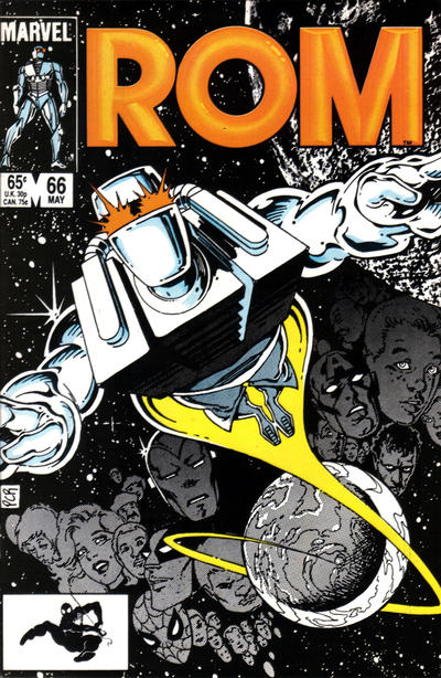 Cover for ROM (Marvel, 1979 series) #66 [Direct Edition]