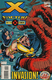 Cover for X-Factor (Marvel, 1986 series) #110 [Deluxe Direct Edition]
