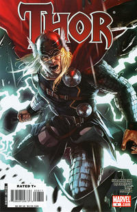 Cover Thumbnail for Thor (Marvel, 2007 series) #8 [Marko Djurdjevic variant cover]