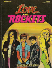 Cover Thumbnail for The Complete Love & Rockets (Fantagraphics, 1985 series) #1 [1st Edition]