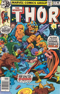Cover Thumbnail for Thor (Marvel, 1966 series) #277 [newsstand]