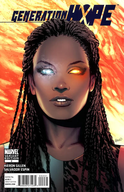 Cover for Generation Hope (Marvel, 2011 series) #2