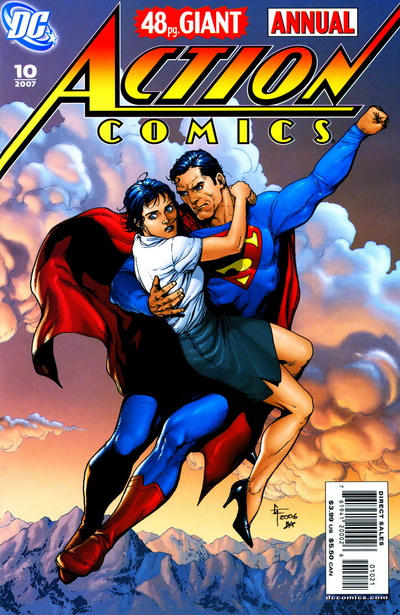Cover for Action Comics Annual (1987 series) #10 [Variant Cover]