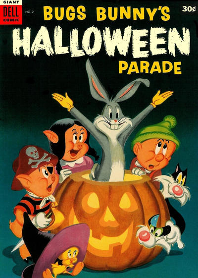 Cover for Bugs Bunny's Halloween Parade (1953 series) #2 [30 cent edition]