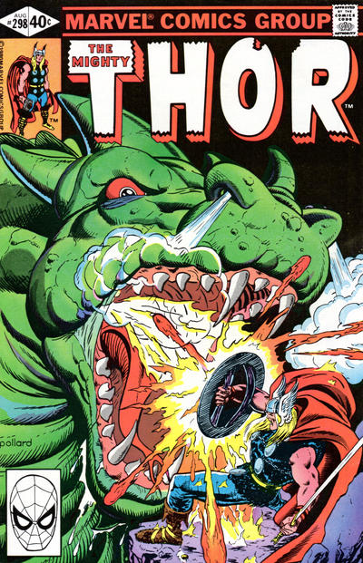 Cover for Thor (Marvel, 1966 series) #298 [Direct Edition]