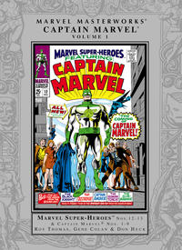 Cover Thumbnail for Marvel Masterworks: Captain Marvel (Marvel, 2005 series) #1 [Regular Edition]